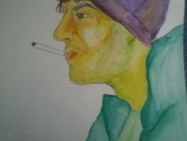 Mike Watercolor by LisaFreds