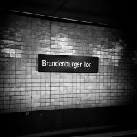 Berlin S-Bahn Brandenburger Tor Railway Station by MichiLauke