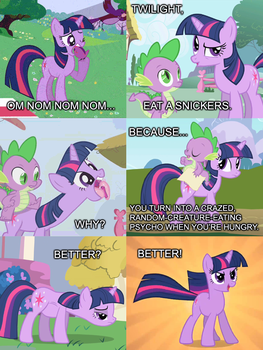 MLP - Snickers by shadesmaclean