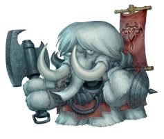mammoth by kidchuckle