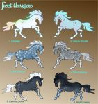 Frost Charger Breed and Colors by Murasaki99