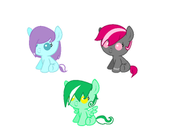 Foal Adoptables! (Closed) by A-LonelyDove