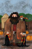 Our Dear Friend Hagrid by SmudgeThistle