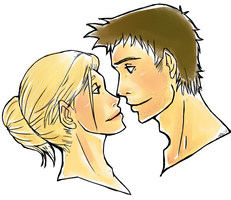 Nathan and Elena - Busts by Penguins-bite