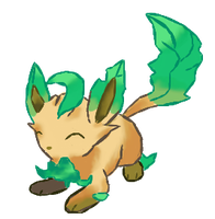 Shiny Leafeon by puffley115