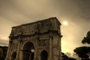 The Arch of Constantine by LPeregrinus