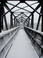 frozen black bridge by C6x676