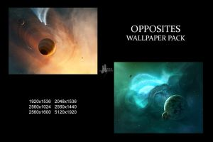 Opposites Wallpaper Pack by JoeyJazz