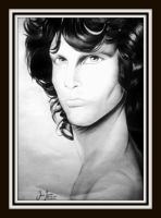 Jim Morrison by Oscarliima
