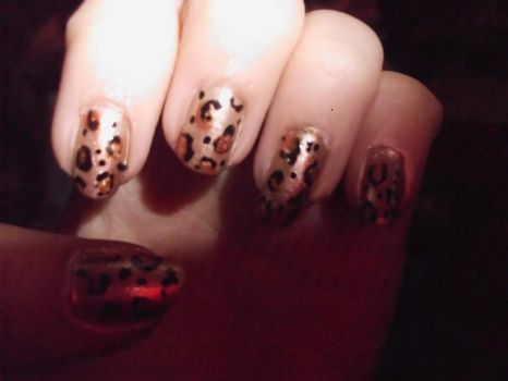 leopard print by Shanster2