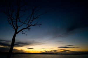 Lough Erne - Post sunset by mole2k