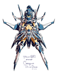 The CoDD: Tiamat6A1 Rough Paint by Nsio