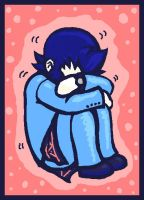 Eikichi Has a Sad by WafflesMcCoy