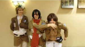 NDK 2014 - Attack On Titian by peppermix14