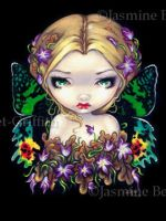 Autumn Crocus Fairy by jasminetoad