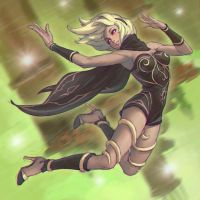 Gravity Rush by KR0NPR1NZ