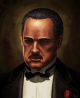 The Godfather by Iroisaac