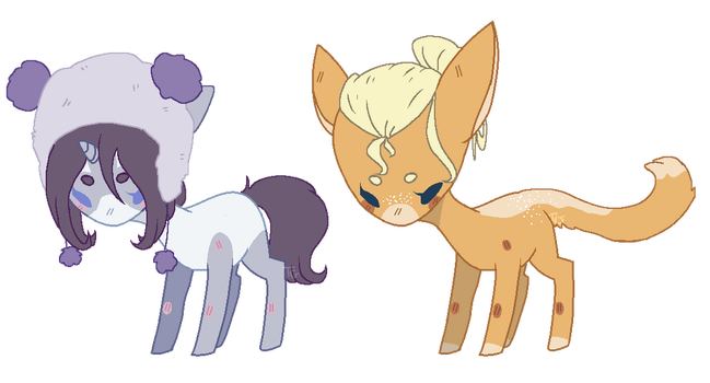 some cuties by eggoat