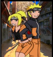 Naren and Naruto by smash-chan77