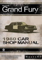 '80 Plymouth Grand Fury Vintage Manual by MosesMD