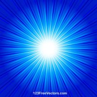 Abstract Blue Starburst Background Vector by 123freevectors