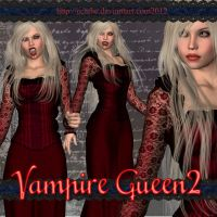 vampire queen 02 by Ecathe
