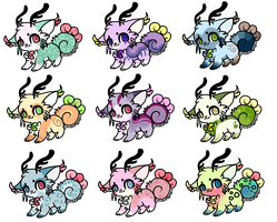 :100 points adoptables(closed) by PrePAWSterous