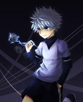 Killua by tama-child