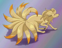 Ninetails by LegendaryBagel