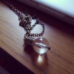 light bulb necklace by Akemi14