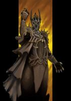 The Dark Lord Sauron by LasloLF