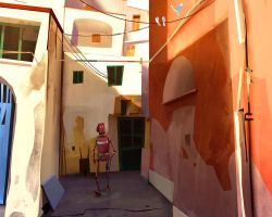 Walk In  Procida by GorosArt