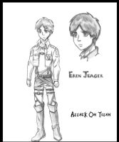Eren Jeager by goldvicblest