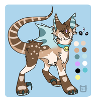 Fluffy Raptor Dragon Adoptable Auction {CLOSED} by comLcsans