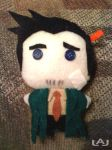 Chibi Plushies: Gumshoe by Red-Flare