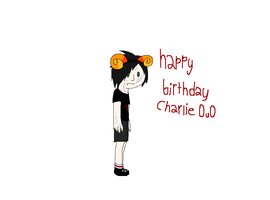 Happy Birthday Charlie by Helkie-three
