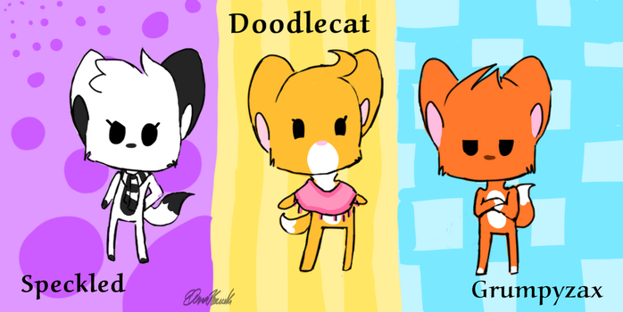 Team Doodle by MajesticWish