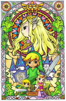 Successors of the Hero of Winds and Princess Zelda by Legend-tony980