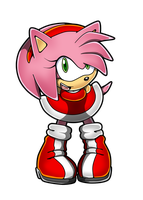 : Amy Rose : by Recklesschibi
