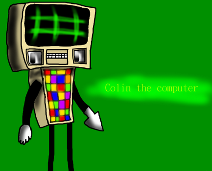 Colin the computer by thegemmaster