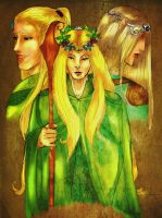 Lotr: Three Rulers by Hedonistbyheart
