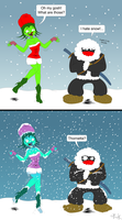 Winter for Jack and Thornetta by gagaman92