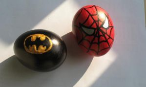 Happy easter: badass eggs. by zaloguj