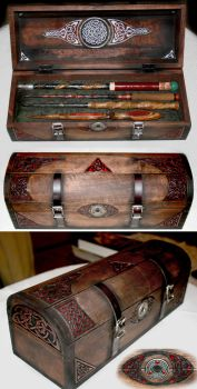 Wizards Chest by McGovernArts