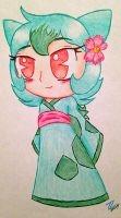 Gijinka Bulbasaur by TuxedoLynx
