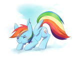 Rainbow Dash by nedoiko