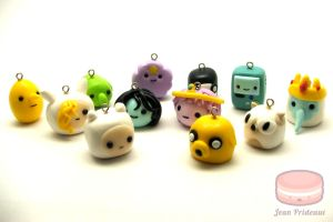 Adventure Time Charms by MagickMaka