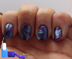 Failed Water Marble? by Ithfifi