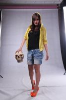 girl n skull head by arya-poenya-stock