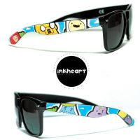 Adventure Time Custom Wayfarers by felixartistixcouk